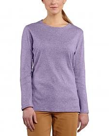 Carhartt Women's Calumet Long Sleeve Crewneck Shirt