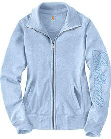 Carhartt Women's Light Blue Dunlow Sweatshirt