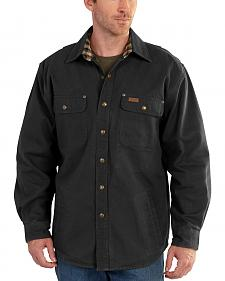 Carhartt Weathered Canvas Shirt Jacket - Big & Tall