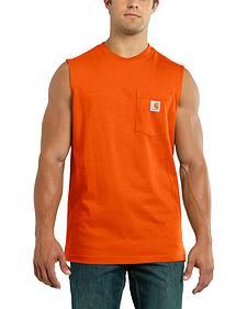 Carhartt Men's Workwear Pocket Sleeveless Shirt