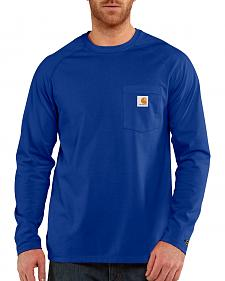 Carhartt Men's Force Cotton Long Sleeve Shirt - Big & Tall