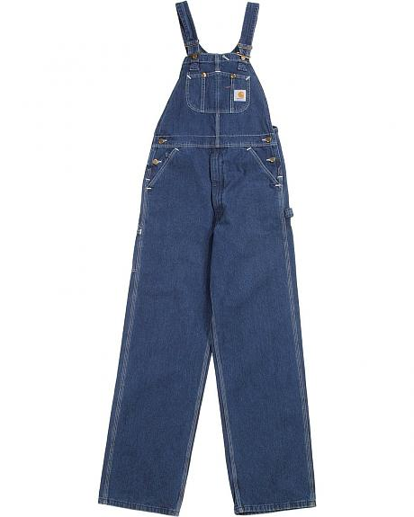 Carhartt R07 unlined denim overalls - reg, big. Up to 50