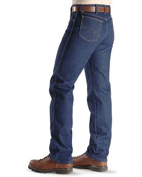 Flame-Resistant Wrangler Jeans - 13MWZ Original Fit