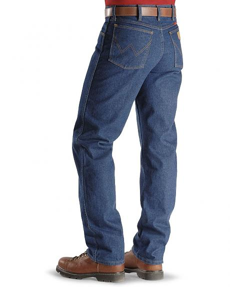 Flame-Resistant Wrangler Jeans - 31MWZ Relaxed Fit