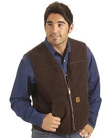 Carhartt Sandstone Duck Work Vest
