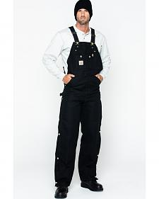 "Carhartt Quilt Lined Duck Bib Overalls - Reg, Big. Up to 50"" waist"