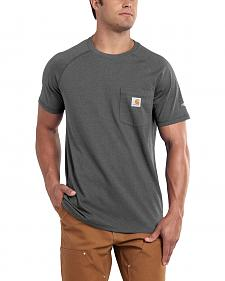 Carhartt Men's Force Cotton Short Sleeve Shirt - Big & Tall