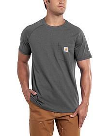 Carhartt Men's Force Cotton Short Sleeve Shirt - Big & Tall