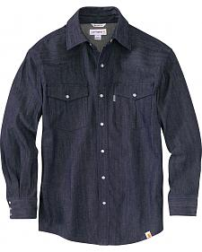Carhartt Men's Ironwood Denim Work Shirt - Big & Tall