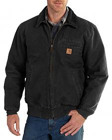 Carhartt Men's Black Bankston Jacket - Big & Tall