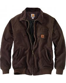 Carhartt Men's Dark Brown Bankston Jacket - Big & Tall