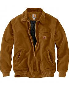 Carhartt Men's Pecan Brown Bankston Jacket - Big & Tall