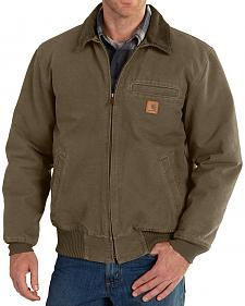 Carhartt Men's Light Brown Bankston Jacket - Big & Tall