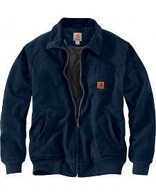 Carhartt Men's Navy Bankston Jacket - Big & Tall