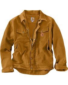 Carhartt Men's Pecan Berwick Jacket - Big & Tall