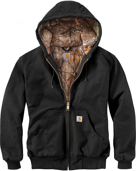 Carhartt Men's Black Huntsman Active Jacket