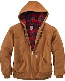 Carhartt Men's Pecan Brown Huntsman Active Jacket