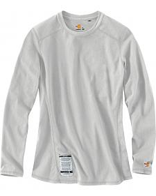 Carhartt Women's Flame Resistant Force Long Sleeve Top