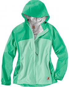 Carhartt Women's Sage Mountrail Waterproof Rain Jacket