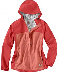 Carhartt Women's Coral Mountrail Waterproof Rain Jacket