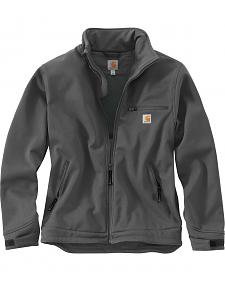 Carhartt Men's Grey Crowley Jacket - Big & Tall
