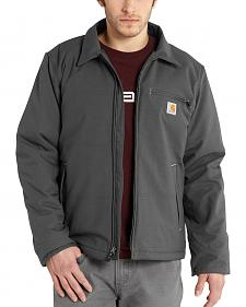 Carhartt Men's Grey Quick Duck Livingston Jacket - Big & Tall