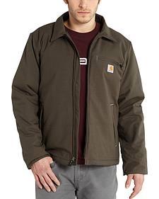 Carhartt Men's Bark Quick Duck Livingston Jacket - Big & Tall
