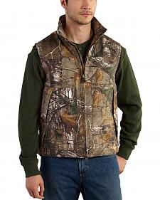 Carhartt Men's Realtree Xtra Camo Quick Duck Vest - Big & Tall
