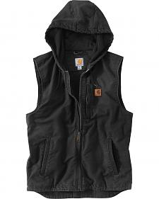 Carhartt Men's Black Knoxville Hooded Vest