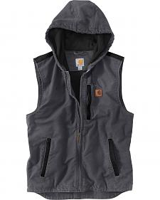 Carhartt Men's Dark Grey Knoxville Vest - Big and Tall