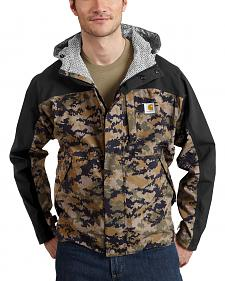 Carhartt Men's Camo Shoreline Vapor Waterproof Jacket