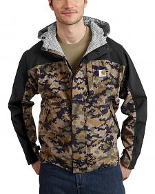 Carhartt Men's Camo Shoreline Vapor Waterproof Jacket - Big & Tall