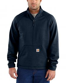 Carhartt Men's Flame Resistant Force Quarter-Zip Fleece Jacket
