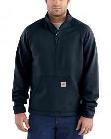 Carhartt Men's Flame Resistant Force Quarter-Zip Fleece Jacket - Big & Tall