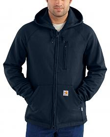 Carhartt Men's Flame Resistant Force Hooded Fleece Jacket - Big & Tall