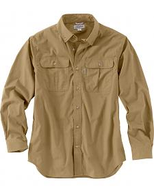 Carhartt Men's Foreman Long Sleeve Work Shirt - Big & Tall
