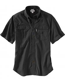 Carhartt Men's Foreman Short Sleeve Work Shirt - Big & Tall