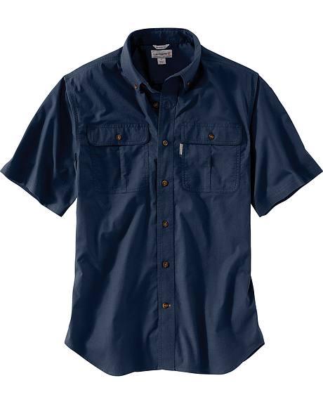 Carhartt Men's Foreman Short Sleeve Work Shirt - Big & Tall