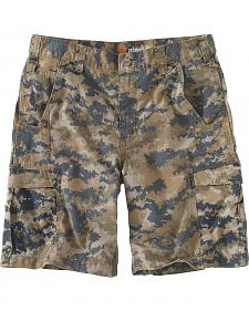 Carhartt Men's Mosby Digital Camo Cargo Shorts
