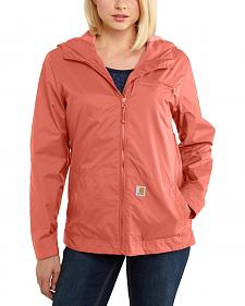 Carhartt Women's Waterproof Rockford Windbreaker Jacket