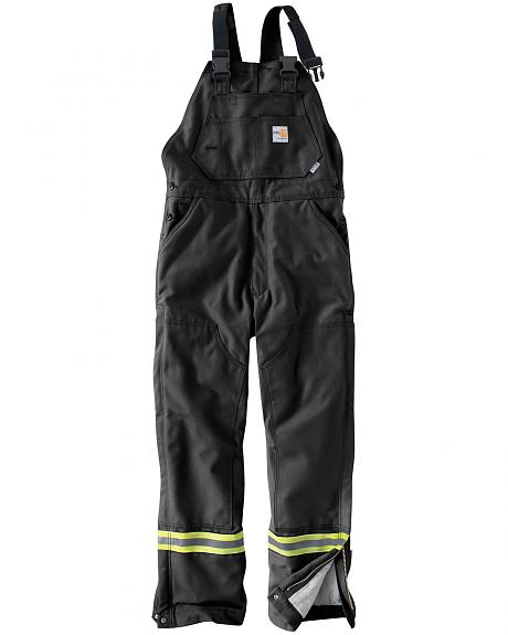 Carhartt Men's Flame Resistant Quilted Lining Overalls