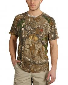 Carhartt Force Delmont Camo Short Sleeve Shirt - Big & Tall