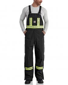 Carhartt Men's Flame Resistant High-Visibility Overalls