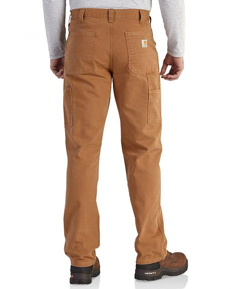 Carhartt Men's Relaxed Fit Washed Duck Work Dungarees