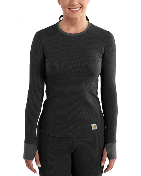 Carhartt Women's Base Force Cold Weather Crewneck Top