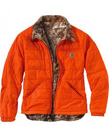 Carhartt Men's Reversible Woodsville Jacket - Big & Tall