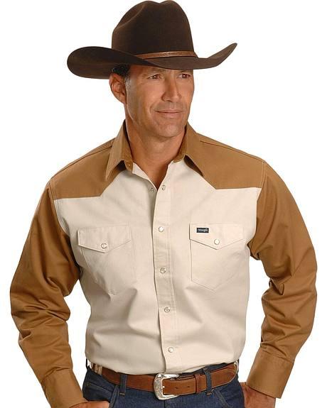 Wrangler Work Shirt - Reg