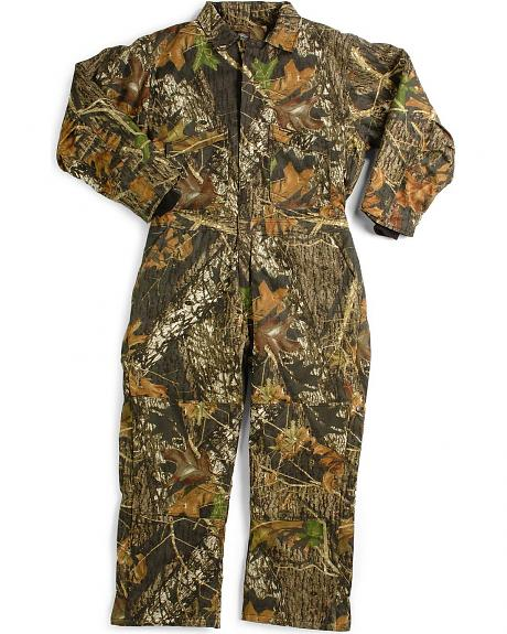 Wolf Mountain by Key Mossy Oak Camo Hunting Coveralls