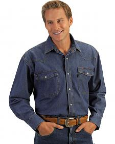 Key Western Denim Work Shirt