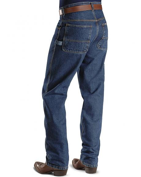 Key Industries Denim Dungaree Jeans - Relaxed Fit